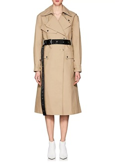 Helmut Lang Women's Belted Cotton Trench Coat