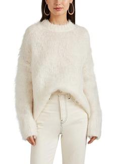 Helmut Lang Women's Brushed Mohair-Blend Oversized Sweater