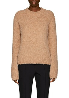 Helmut Lang Women's Brushed Wool-Blend Crewneck Sweater