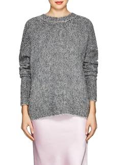 Helmut Lang Women's Brushed Wool-Blend Sweater