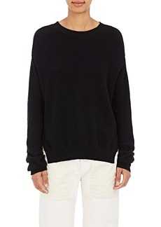 Helmut Lang Women's Button-Accented Cotton-Cashmere Sweater