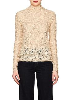 Helmut Lang Women's Cotton-Blend Lace Top