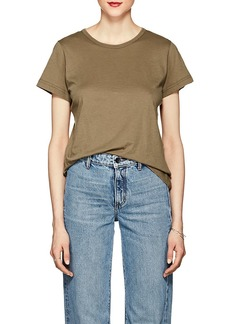 Helmut Lang Women's Cotton-Cashmere Short-Sleeve T-Shirt