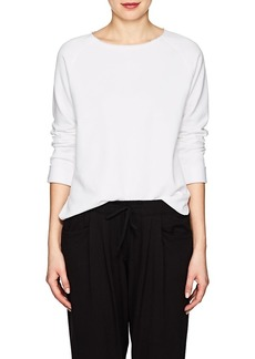 Helmut Lang Women's Cotton French Terry Sweatshirt