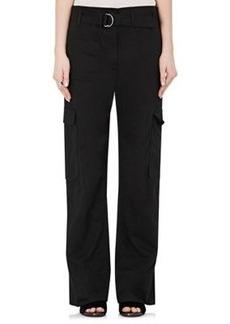 Helmut Lang Women's Cotton-Linen Cargo Pants