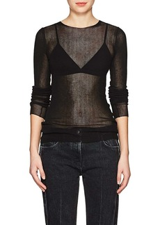 Helmut Lang Women's Cotton Long-Sleeve Shirt
