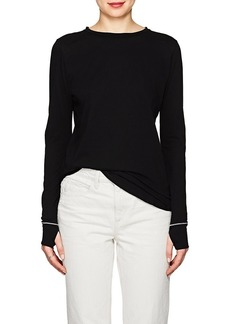 Helmut Lang Women's Cotton Long-Sleeve Top