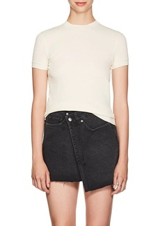 Helmut Lang Women's Cotton Mesh Jersey T-Shirt