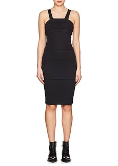 Helmut Lang Women's Cotton Multi-Layered Fitted Dress