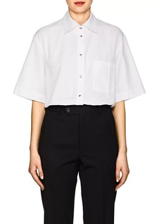 Helmut Lang Women's Cotton Poplin Blouse