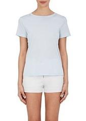 Helmut Lang Women's Cotton Tie-Back T-Shirt