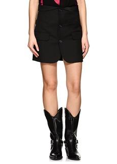 Helmut Lang Women's Crepe Blazer Skirt