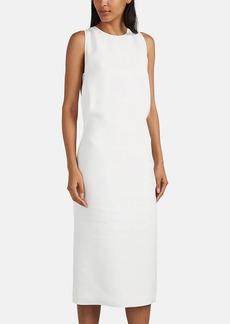 Helmut Lang Women's Crepe Slit-Back Shift Dress