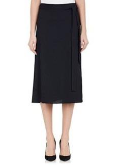 Helmut Lang Women's Crepe Wrap Skirt