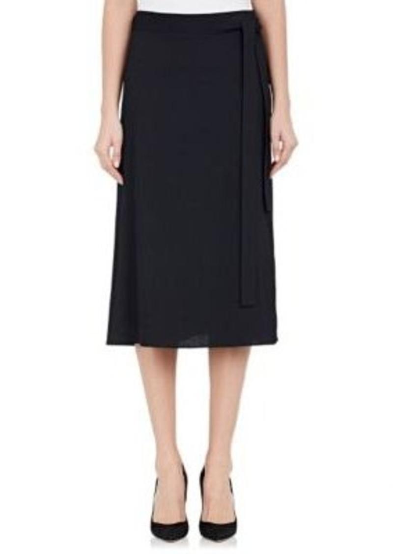 b4f17879e0 Helmut Lang Helmut Lang Women's Crepe Wrap Skirt | Skirts
