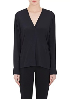 Helmut Lang Women's Crêpe De Chine Backless Top