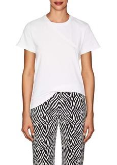 Helmut Lang Women's Cutout-Back Cotton Jersey T-Shirt