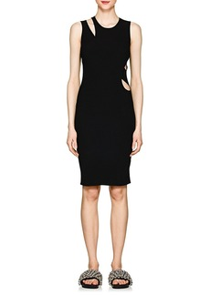 Helmut Lang Women's Cutout Compact Knit Tank Dress