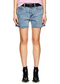 Helmut Lang Women's Denim Cutoff Shorts