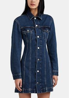 Helmut Lang Women's Denim Mini-Shirtdress