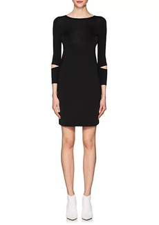 Helmut Lang Women's Detached-Cuff Shift Dress