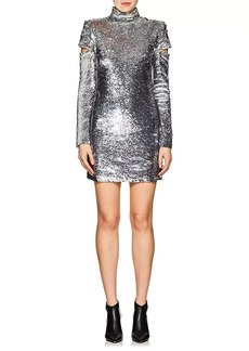 Helmut Lang Women's Disco Sequined Minidress