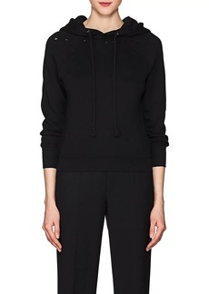 Helmut Lang Women's Distressed Cotton Hoodie