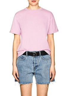 Helmut Lang Women's Distressed Cotton T-Shirt