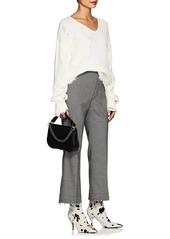 f7bde0e4bcf6 Helmut Lang Helmut Lang Women s Distressed Cotton-Wool V-Neck ...