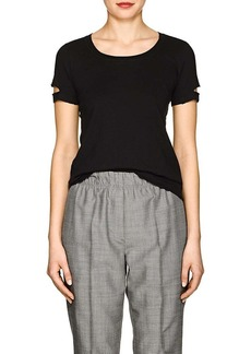 Helmut Lang Women's Distressed Jersey T-Shirt