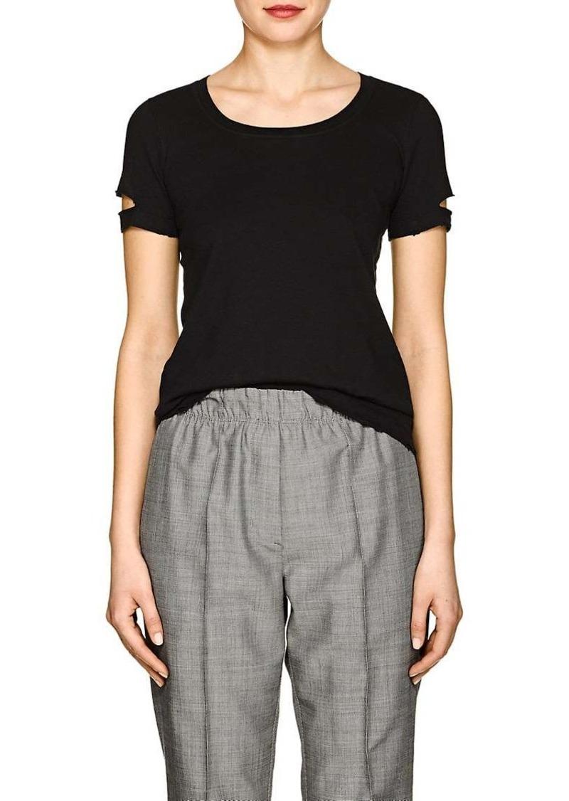 c54d81cce Helmut Lang Helmut Lang Women's Distressed Jersey T-Shirt | Tees