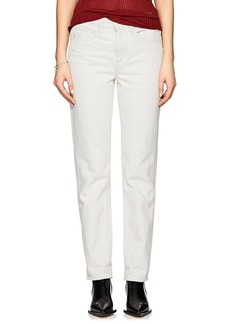 Helmut Lang Women's Distressed Tapered Jeans