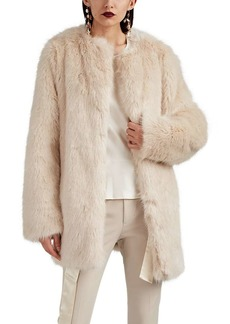 Helmut Lang Women's Faux-Fur Coat