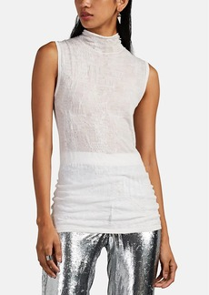 Helmut Lang Women's Gauze Turtleneck Top
