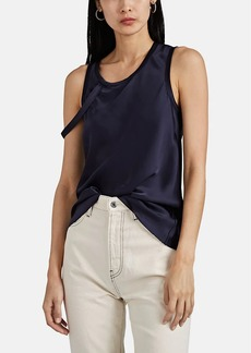 "Helmut Lang Women's ""Harness"" Satin Tank"