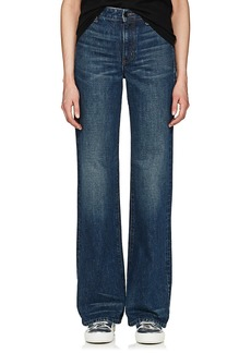 Helmut Lang Women's High-Rise Wide-Leg Jeans