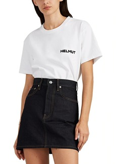 "Helmut Lang Women's ""In Lang We Trust"" Cotton T-Shirt"