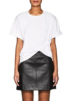 Helmut Lang Women's Knotted Cotton Jersey T-Shirt