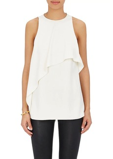 Helmut Lang Women's Layered Crepe Tank