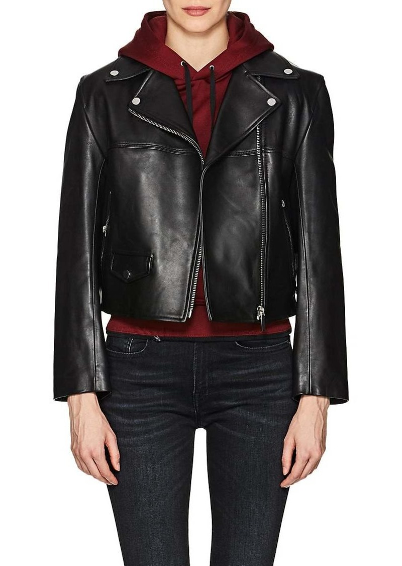 Helmut Lang Women's Leather Biker Jacket