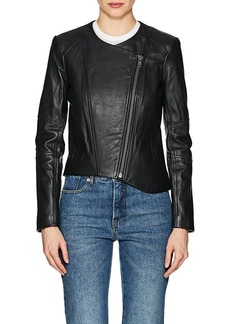 Helmut Lang Women's Leather Crop Jacket