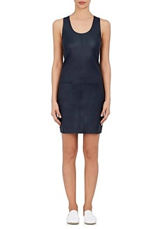 Helmut Lang Women's Leather Minidress