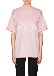 Helmut Lang Women's Logo Cotton T-Shirt