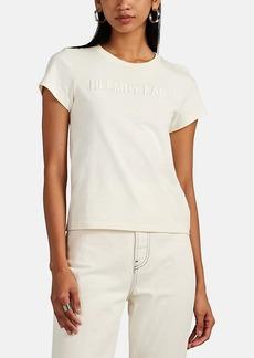 Helmut Lang Women's Logo-Embroidered T-Shirt