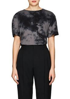 Helmut Lang Women's Logo Tie-Dyed Cotton T
