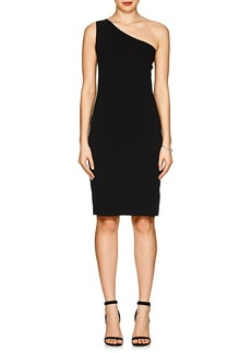 Helmut Lang Women's One-Shoulder Stretch-Twill Dress
