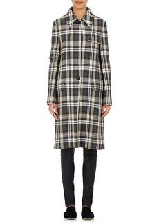 Helmut Lang Women's Plaid Wool-Blend Twill Coat