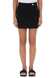 Helmut Lang Women's Raw-Edge Miniskirt