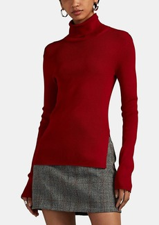 Helmut Lang Women's Rib-Knit Turtleneck Top