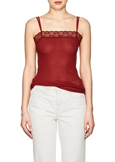 Helmut Lang Women's Ribbed Cotton Tank Top